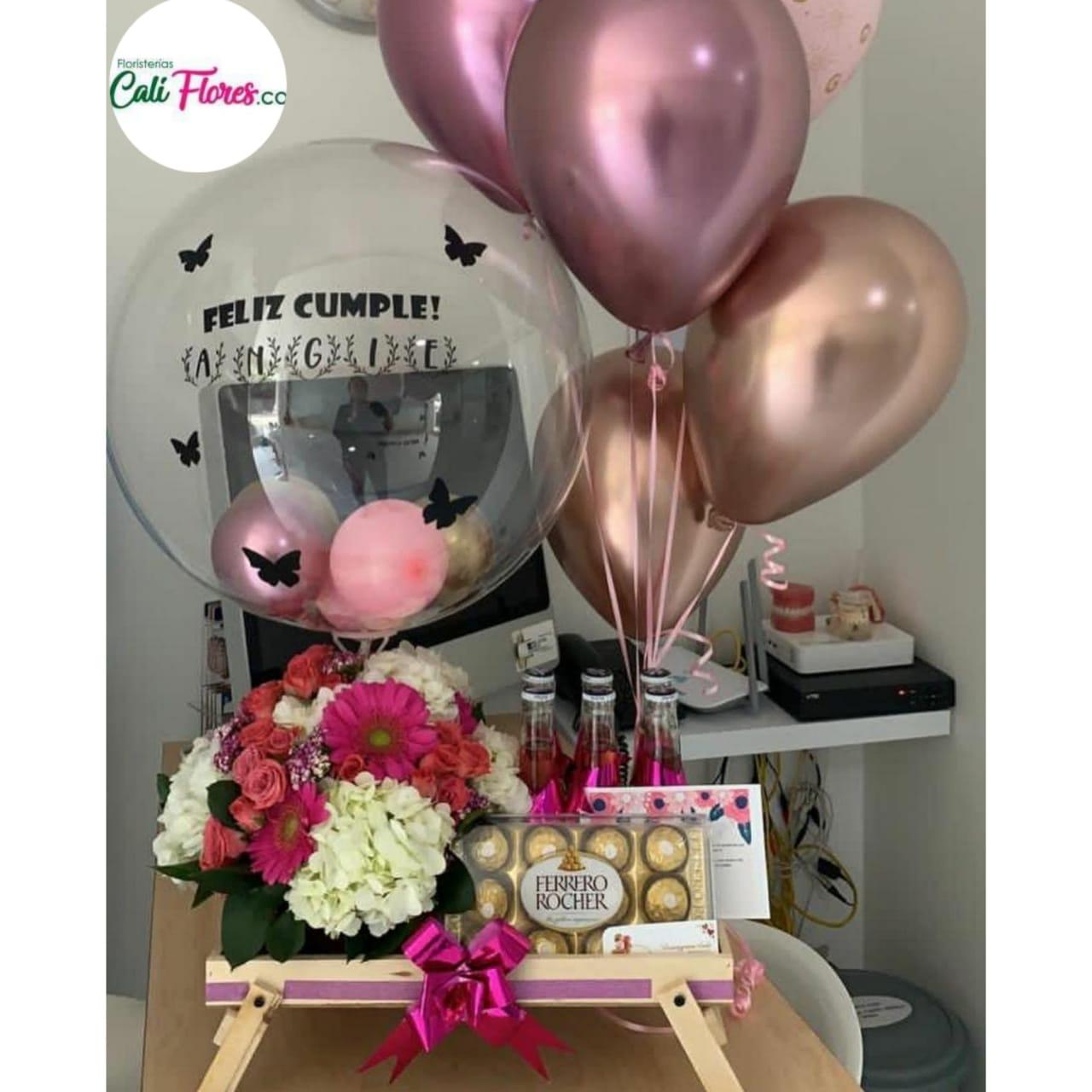 Desayunos Sorpresas en Cali - Detalles, Regalos y Arreglos florales económicos Cumpleaños y Fechas especiales Regalos para tu pareja.