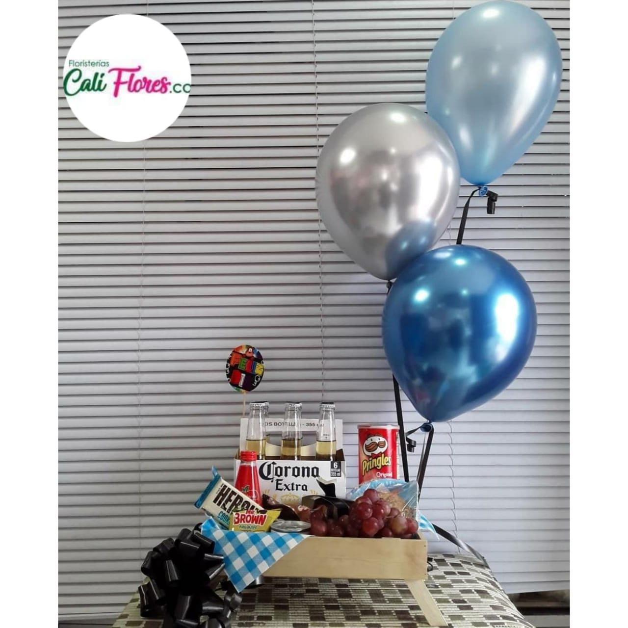 Desayunos Sorpresas - Globos Personalizados- Detalles, Regalos y Arreglos florales económicos Cumpleaños y Fechas especiales Regalos para tu pareja.