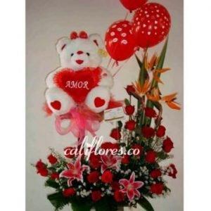 Flores cumpleaños amiga