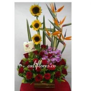 Ramo flores cumpleaños