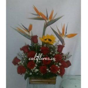 Ramos flores cumpleaños