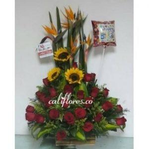 Arreglo de Flores cumpleaños